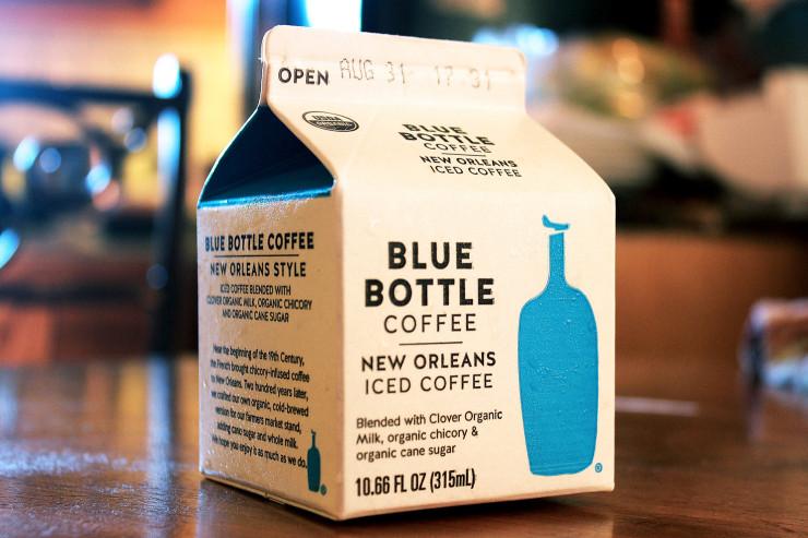 Cold brew da Blue Bottle, uma das tendências da Terceira Onda.