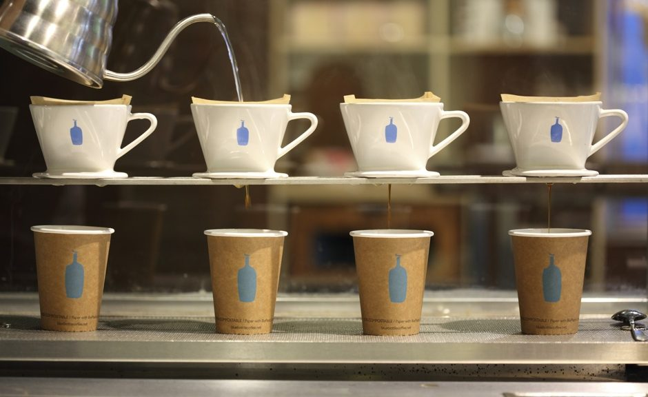 Blue Bottle Brooklyn.