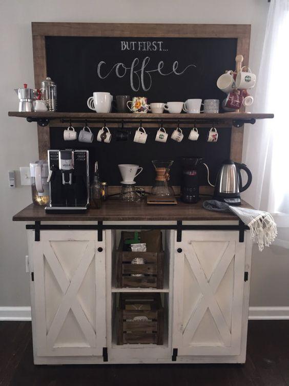 Coffee Station.